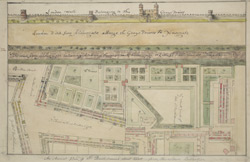 [Plan of the Property of St Bartholomew's Hospital]